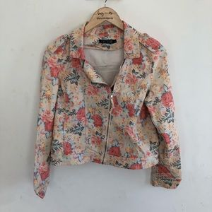 Love Culture floral jacket size L